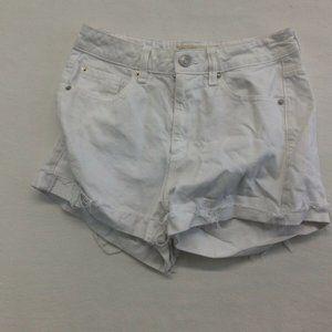 Garage Cut Off Short Women's Size 5 White High Wai